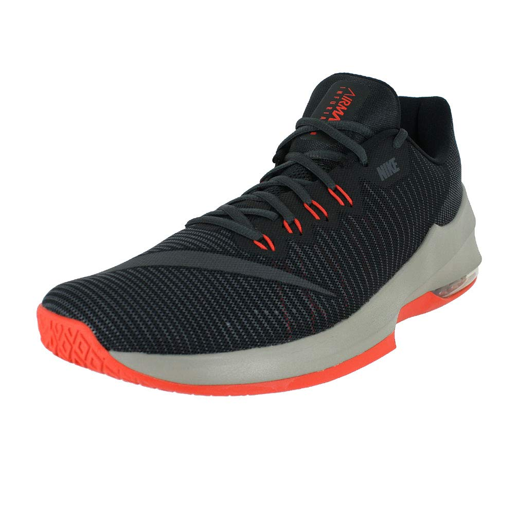 huge discount bb891 af91a Galleon - NIKE Mens AIR MAX Infuriate 2 Low Black Light Taupe Dark Grey  Size 8.5