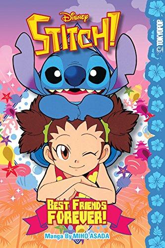 Read Online Disney Manga: Stitch! Best Friends Forever! (Disney Stitch!) pdf epub