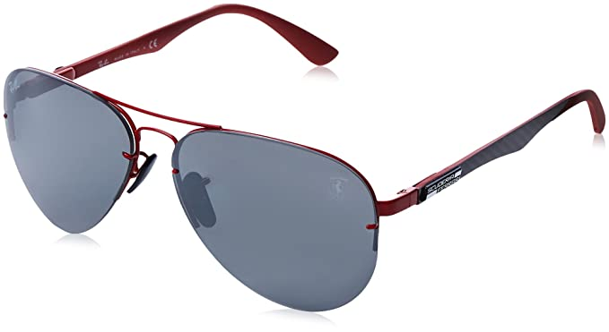 e93ae72639 Ray-Ban Men s 0rb3460mf009h259metal Man Polarized Iridium Aviator Sunglasses