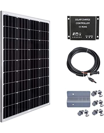 Betop-camp 100W 12V Panel Solar Kit-100W Panel Solar + 10A Controlador de