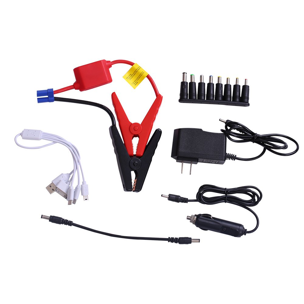 otmake 500A Peak 16800mAh 12-Volt Portable Car Jump starter Booster Battery Charger Power Pack Vehicle