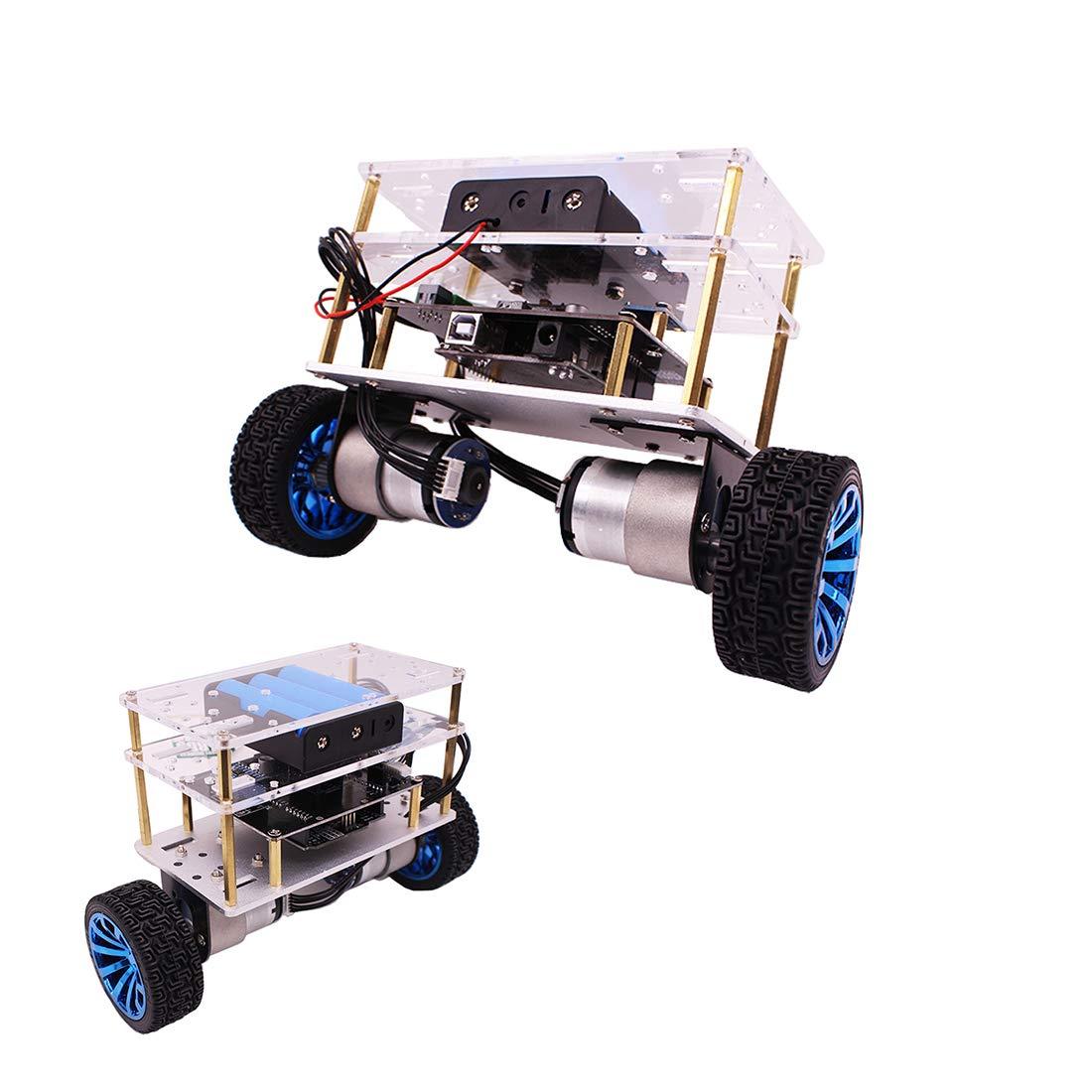 Prament Yahboom Prament Arduinoを搭載したスマートなロボットバランスカーUNO APP/Bluetooth制御 STEMロボット教育キットサポート重力誘導重量4.4 lb/Android APP/Bluetooth制御 B07MPTQBL8 B07MPTQBL8, FineStyle by Rakuten BRANDAVENUE:a49cf445 --- 2017.goldenesbrett.net