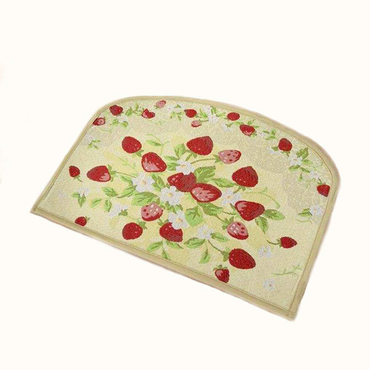 Cliab Strawberry Kitchen Rugs (18 X 24 X 0.2 Inch)