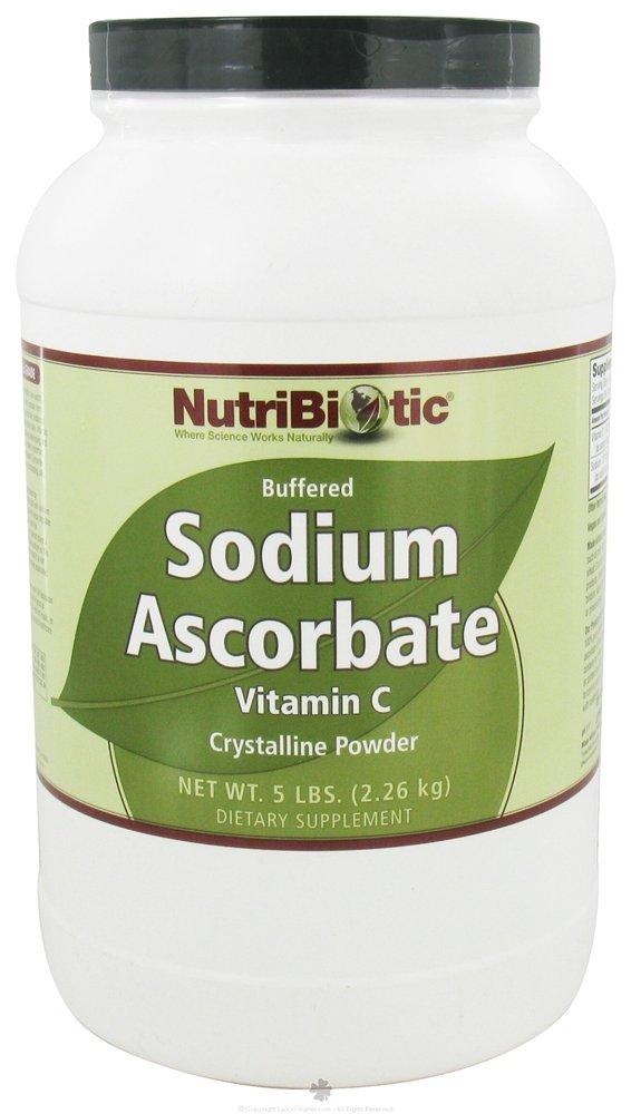 Nutribiotic Sodium Ascorbate Powder, 5 Pound