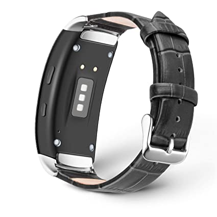 Tosenpo - Correa de Piel para Samsung Gear Fit 2/Gear Fit 2 ...