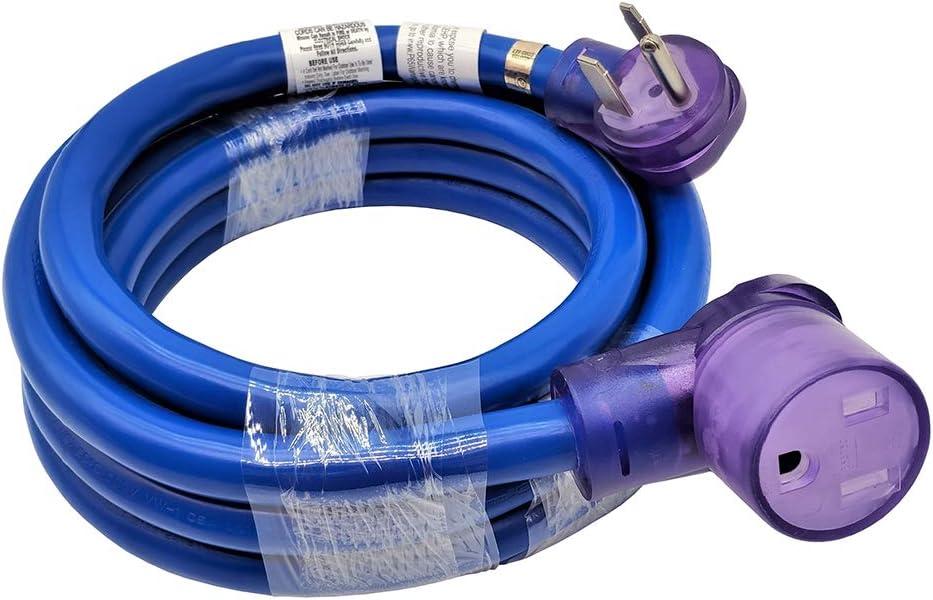 Parkworld Welder 50A Extension Cord, Welding 3-Prong NEMA 6-50 Extension Cord (15FT)