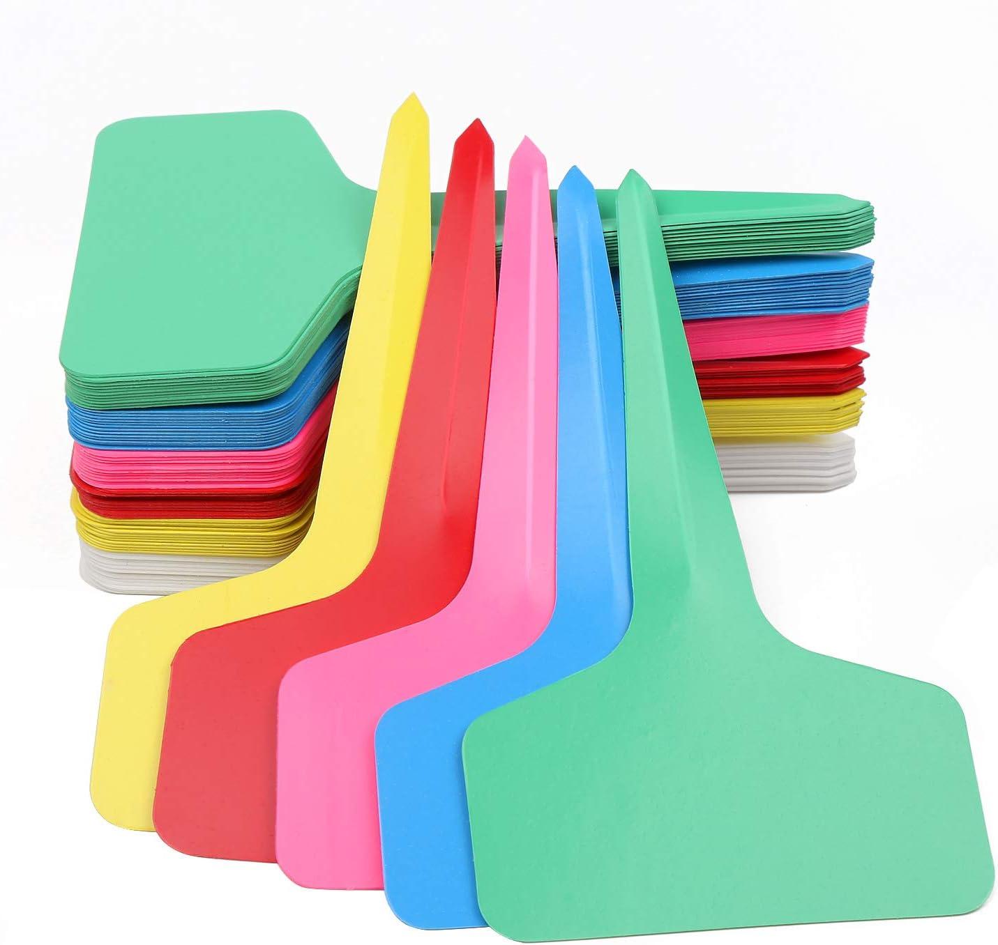 1Pack Lifreer 120PCS Garden Plant Labels Plastic Tags Garden Kit Tools S 3pcs