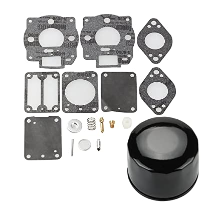 Amazon.com: harbot 693503 693501 Carburador reconstruir kit ...