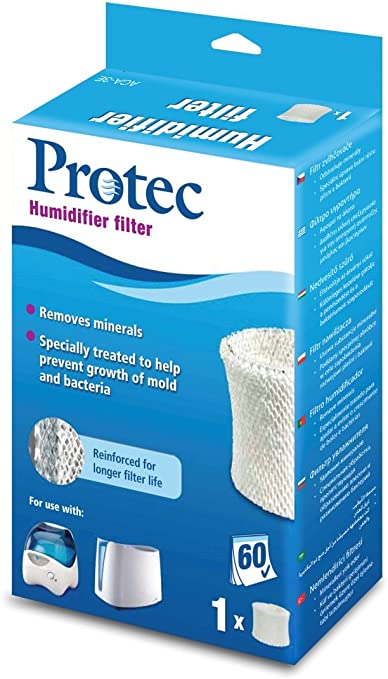 PROTEC Cartouche Anti Bact/érienne pour Humidificateur