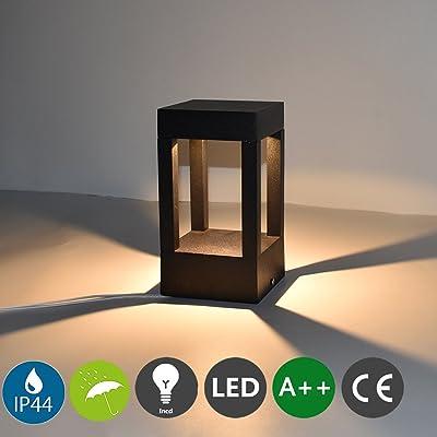e20386a35348f4 10 W LED basse consommation Balise   Lampe brique   wegelampe   Culot Lampe  de jardin