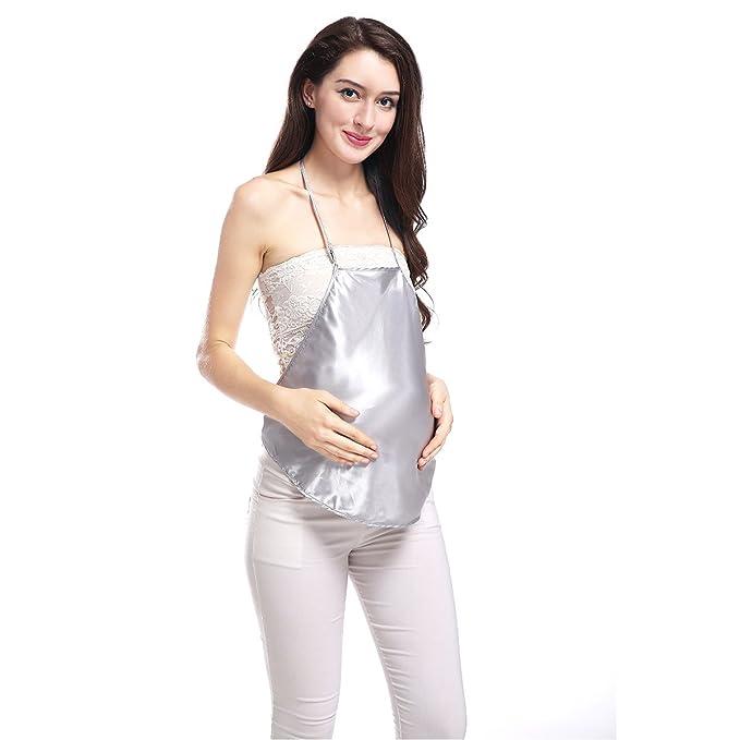 Plata de iones de fibra de protección contra la radiación de ropa de maternidad protección Shm