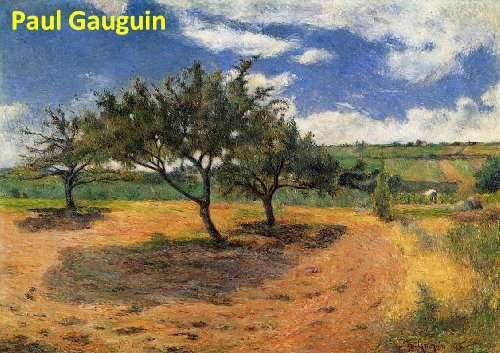 505 Color Paintings of Paul Gauguin - French Post Impressionist Painter (June 7, 1848 - May 8, 1903)