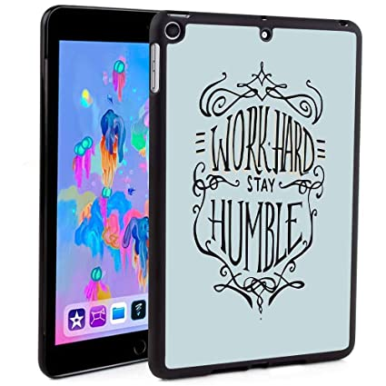 new style 23b4c 62348 Amazon.com: iPad 5th/6th Generation Case,Work Hard Stay Humble ...