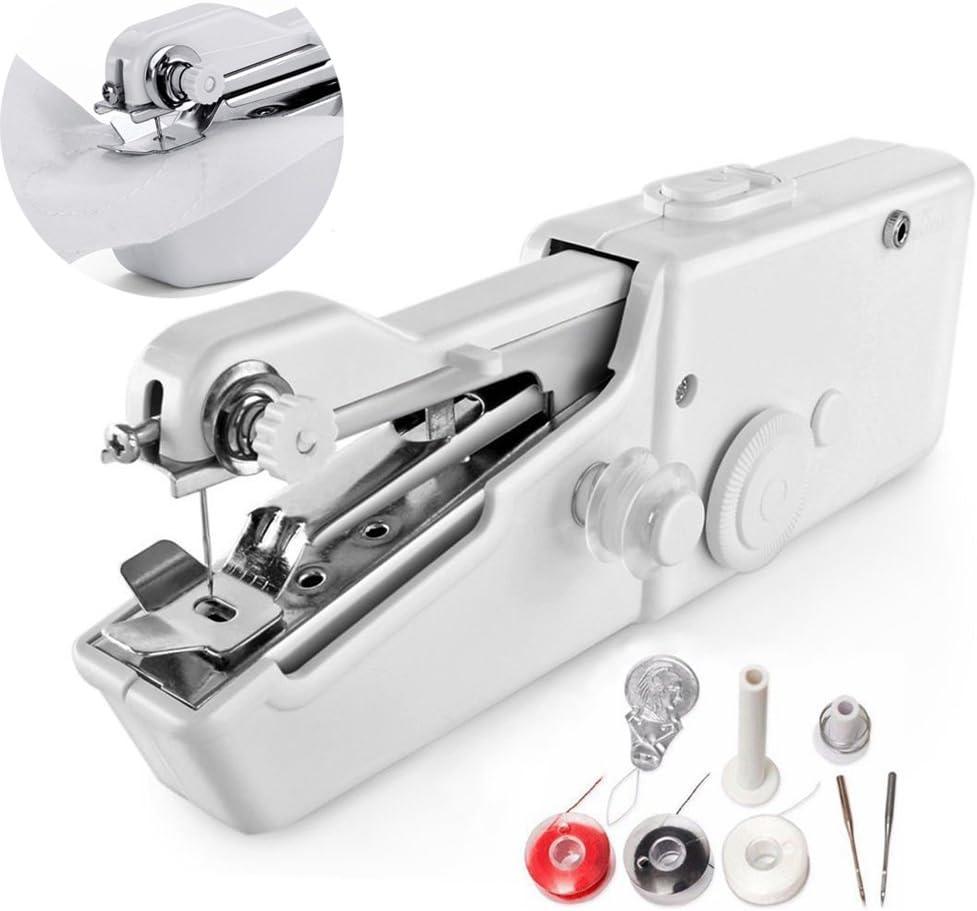 BovoYa Máquina de coser portátil, máquina de coser eléctrica ...