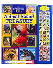 PI Kids Encyclopedia Britannica Kids: Animal Sound Treasury Storybook (Play-A-Sound)