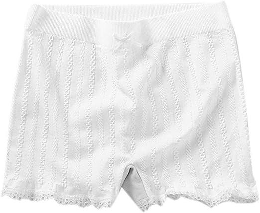 SimpleLife Mujeres Elásticos Pantalones Cortos Ajustados Franja de ...