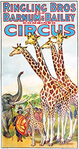 Ringling Brothers Circus Posters - 6