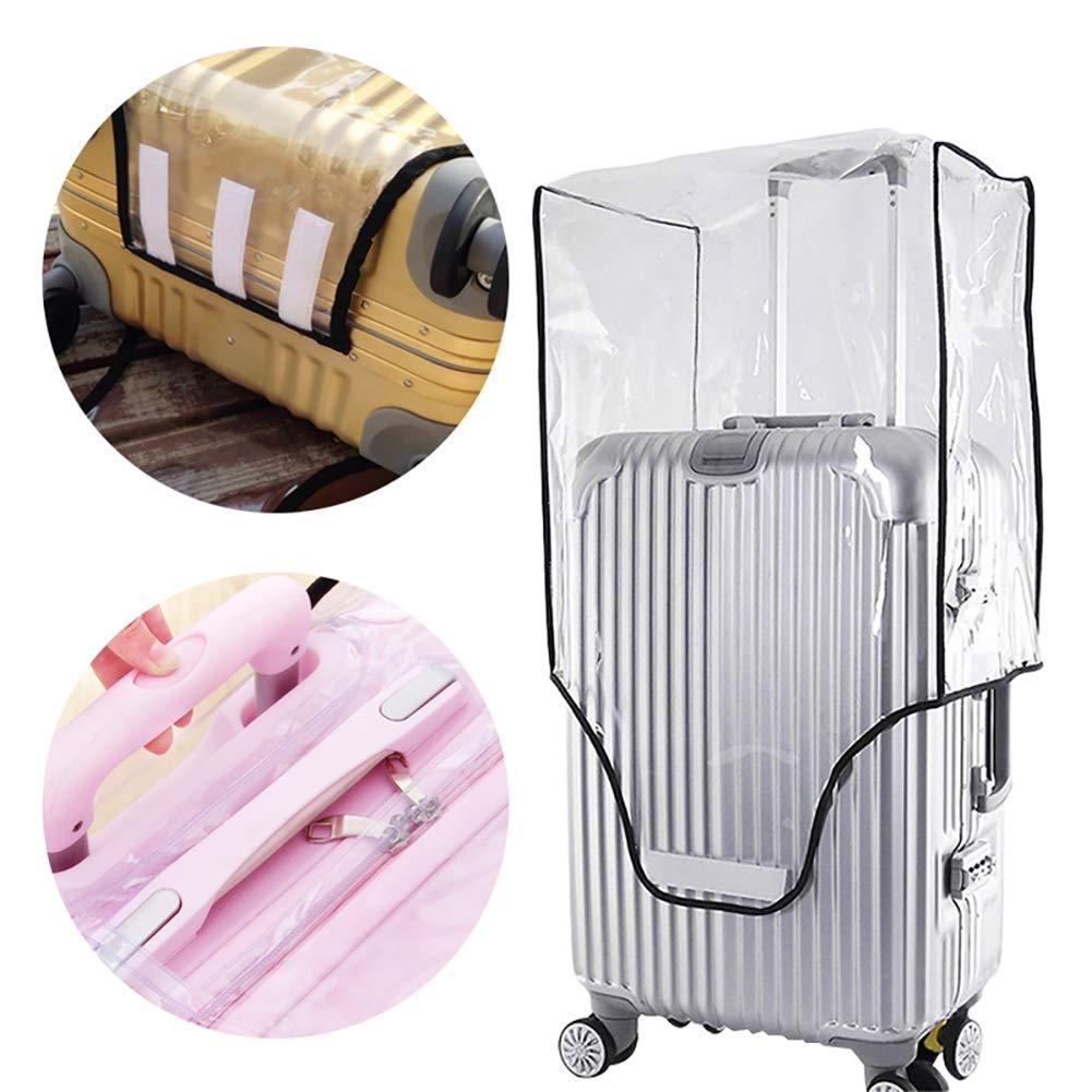 Edwiin Housse de Protection Transparente en PVC pour Coffre de Voiture et Protection Contre Les Rayures H:57-61cm W:40-44cm Thick:26-30cm 24