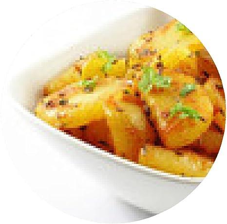 alfombrilla de ratón patatas fritas en un fondo blanco ...
