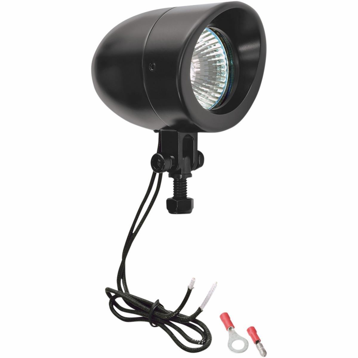 Black LED Show Chrome 16104LEDBK Mini Driving Lights