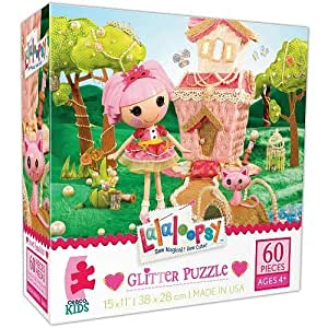 Lalaloopsy 60 Piece Glitter Puzzle - Peanut Big Top by Ceaco