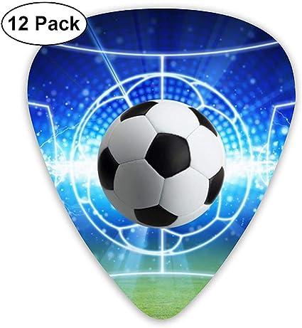 Balón de fútbol Lightning Football Field Guitarra clásica de ...