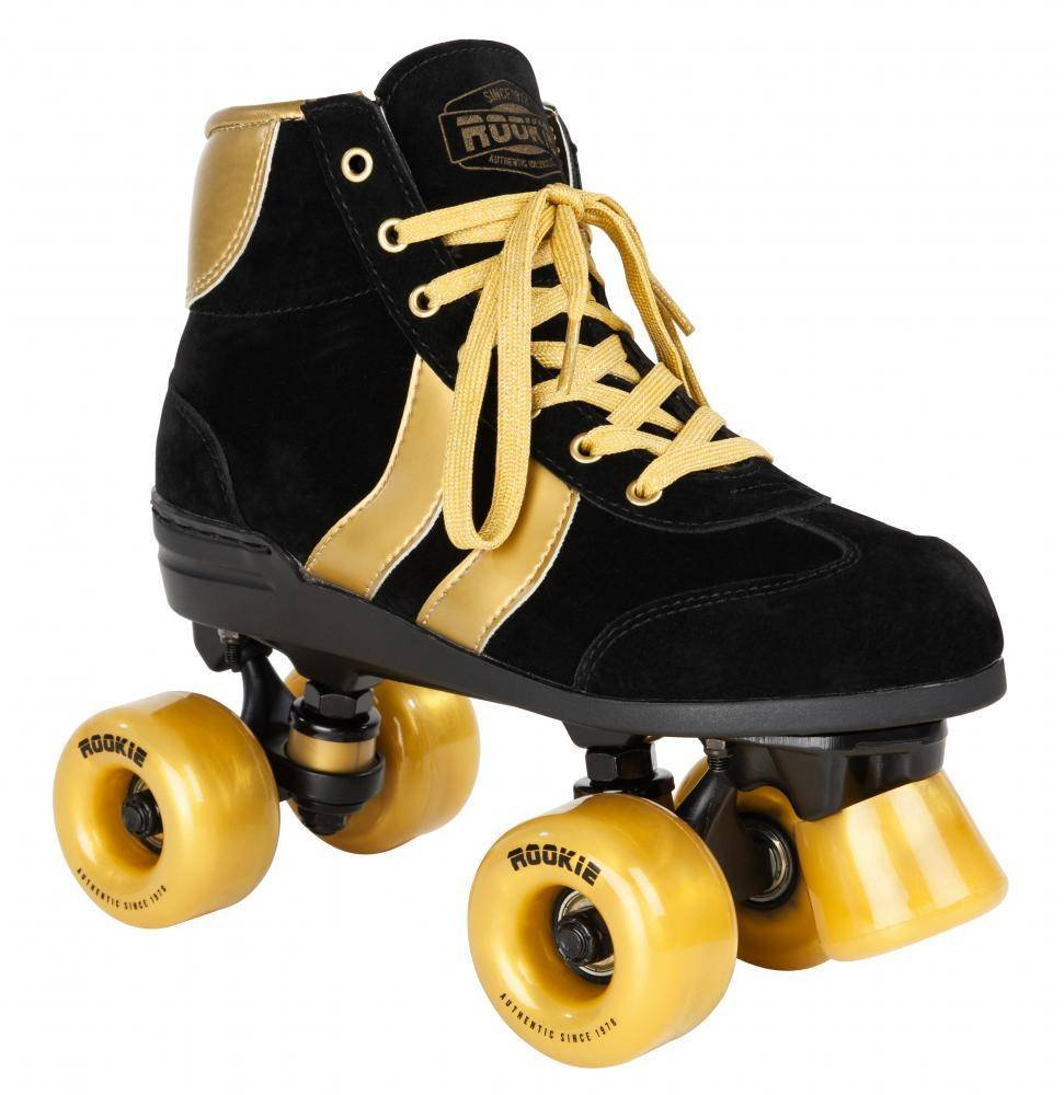 Rookie roller skates amazon - Rookie Authentic V2 2017 Black Gold