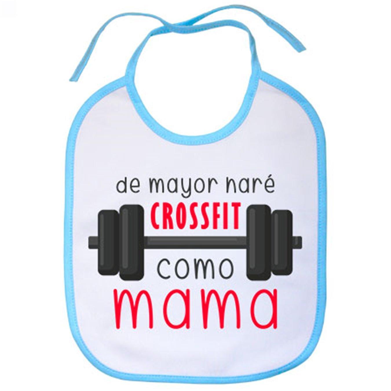 Celeste Babero De mayor har/é crossfit como mama