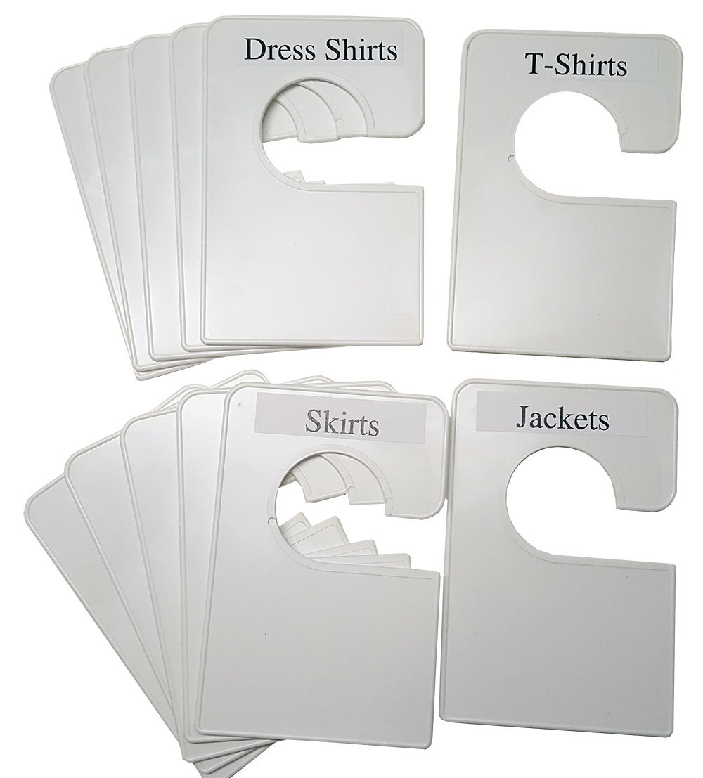 White Clothing Dividers