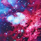 Alicemall Colorful Galaxy Bedding Purplish Red