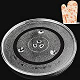 """Jolaxy 12.4"""" Microwave Turntable Plate, 12.4-inch"""