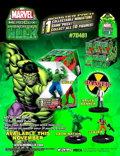 HeroClix: Marvel - The Incredible Hulk 24 Count Countertop D