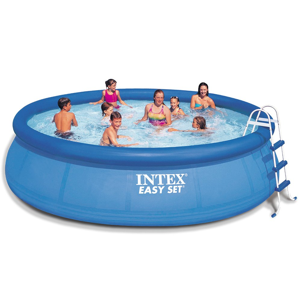 intex 15ft x 42in easy set pool set ebay. Black Bedroom Furniture Sets. Home Design Ideas