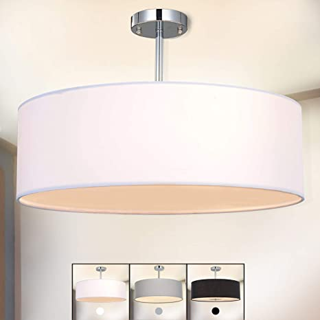 Lámpara de techo, SPARKSOR Foco para techo, Lámpara colgante de techo iluminación, Luz de techo, Lámpara de Dormitorio, Lámpara de Restaurante, E27 ...