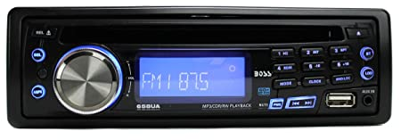 Boss 658UA CD MP3 In Dash Car Receiver – Manufacturer Refurbished