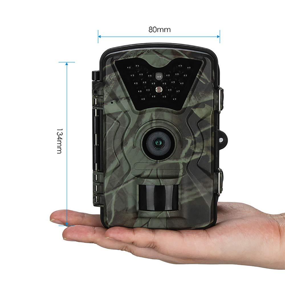 Ct008 12mp 1080p Jagdpfad Kamera Wildlife Farm Game Scouting Cam Night Vision Mit Zeitraffer 65ft 90 Grad Pir Küche Haushalt