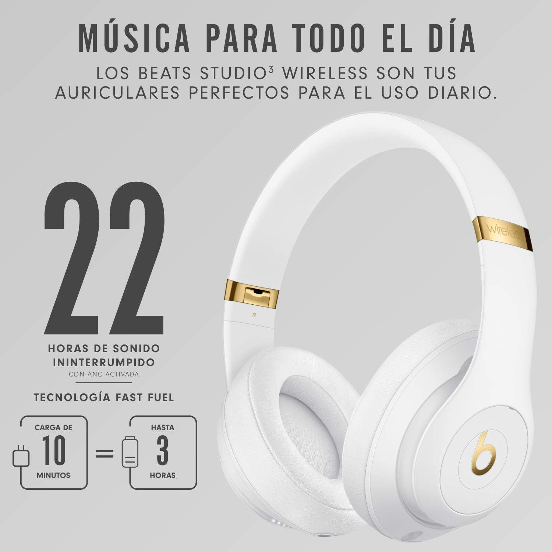 Auriculares Bluetooth Beats Studio3 con chip Apple W1 y cancelación de ruido por 166,83€ ¡¡Ahorras 183€!!