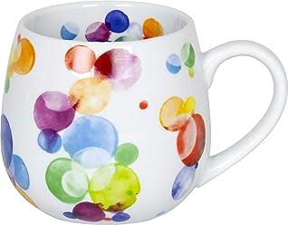 Könitz Urban Jungle Becher Tasse Kaffeetasse Porzellan Dschungel Pflanzen 400 ml
