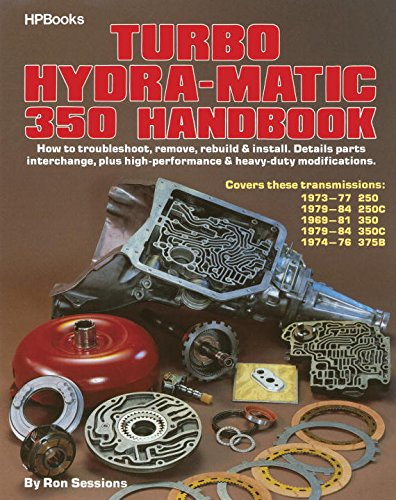 Turbo Hydra-Matic 350 Handbook (Auto Transmission Book compare prices)