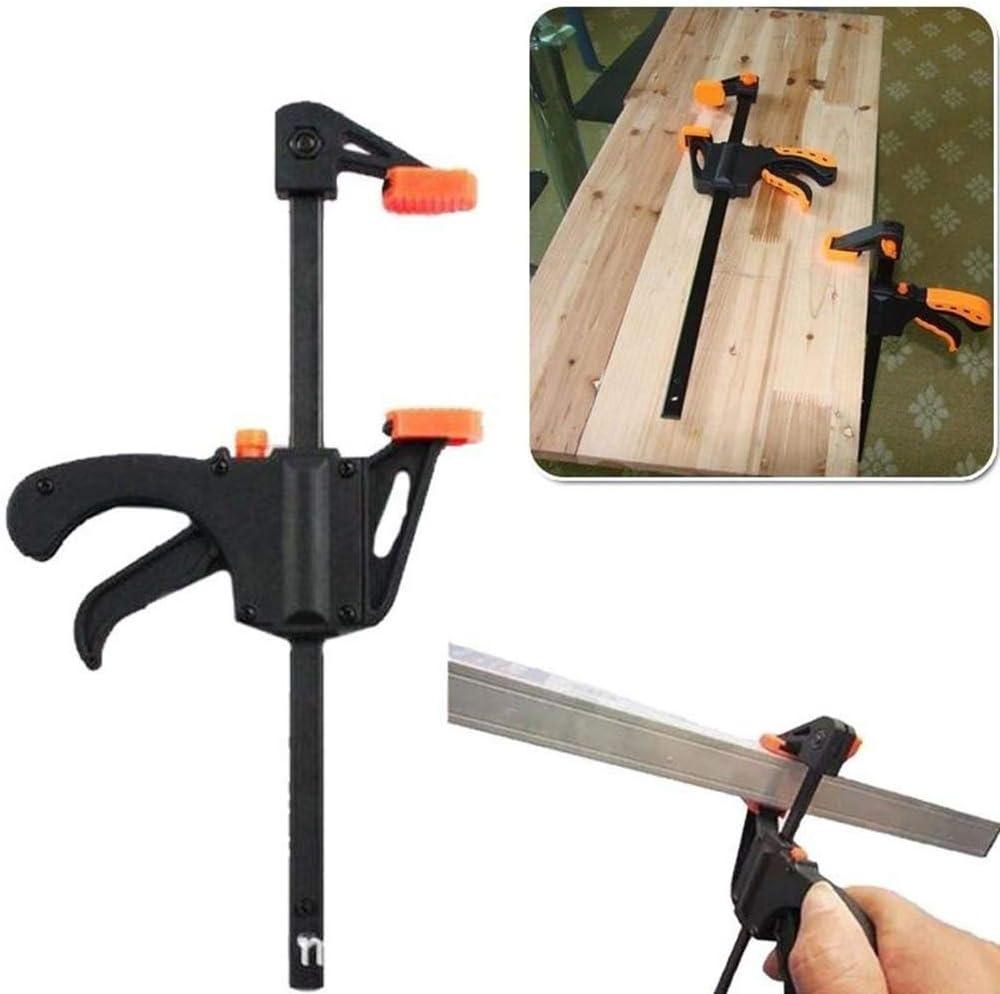 F Clamp Grip Plastic Woodworking Clip Bar Quick Ratchet Release ...
