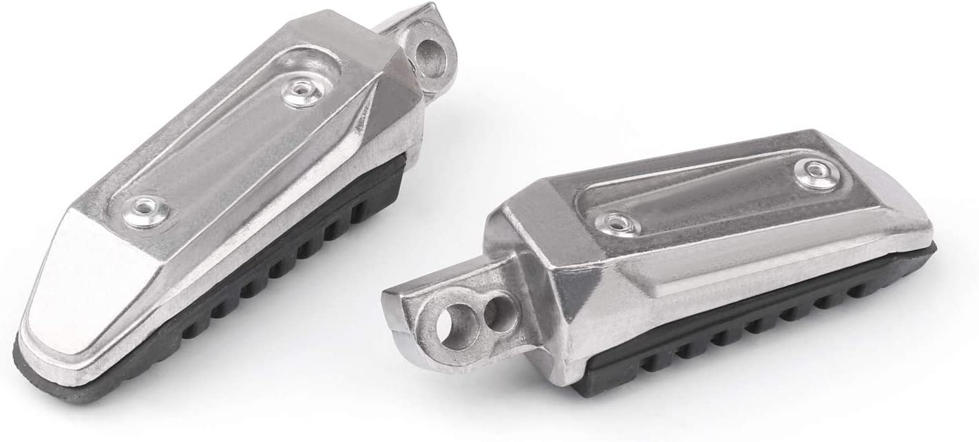 Topteng Rear Footrests Foot Pegs For Su-zu-ki V-Strom DL 650 GSX 1250 1300 GSR 600