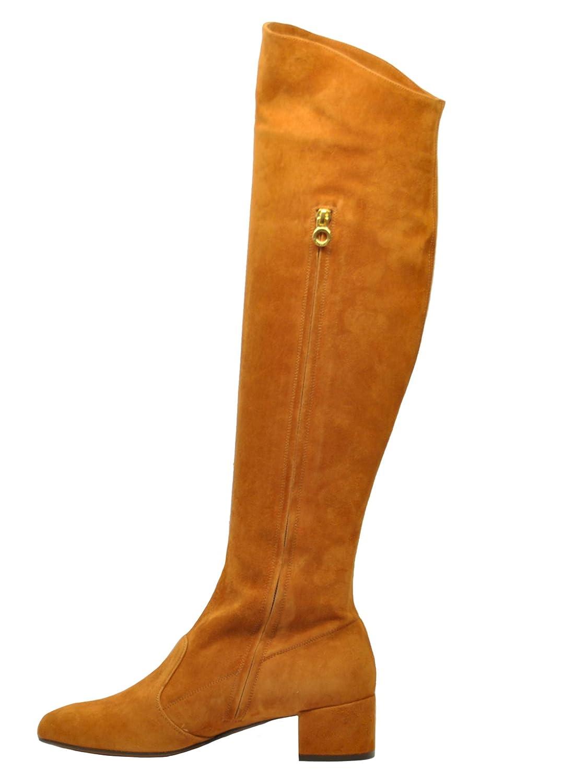 L'Autre Chose Chose Chose LD979740WP05402118 Damen Braun Wildleder Stiefel 08f947