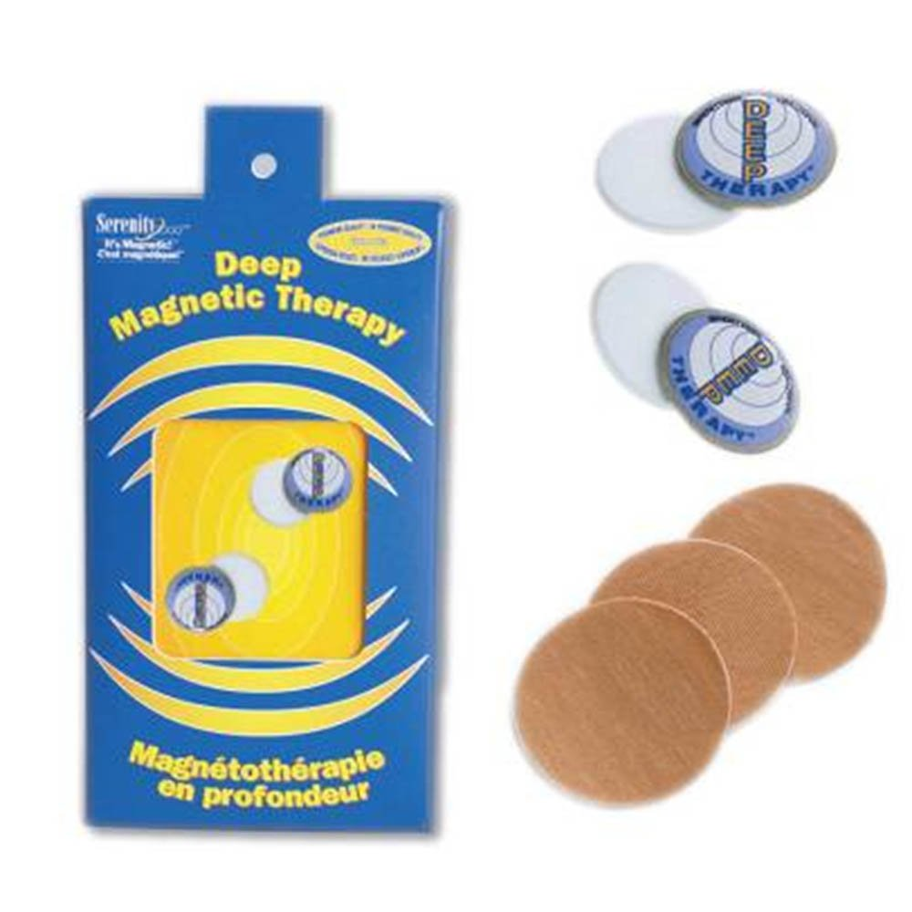 Serenity 2000 | Deep Magnetic Therapy Spot Magnet Kit for Pain Relief - Contains Two Powerful Magnets, 5000 Gauss Per Magnet