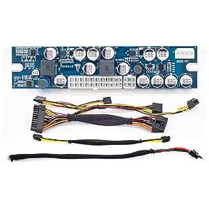 RGEEK 1106 DC to DC ATX PSU 12V 300W Pico ATX Switch PSU 24pin Mini ITX PC Power Supply for Computer