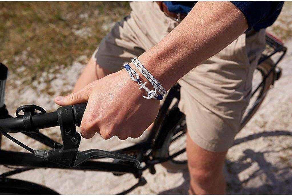 Lengte: 21.00-22.50 cm Tom Hope Royal Blue Armband TM0163