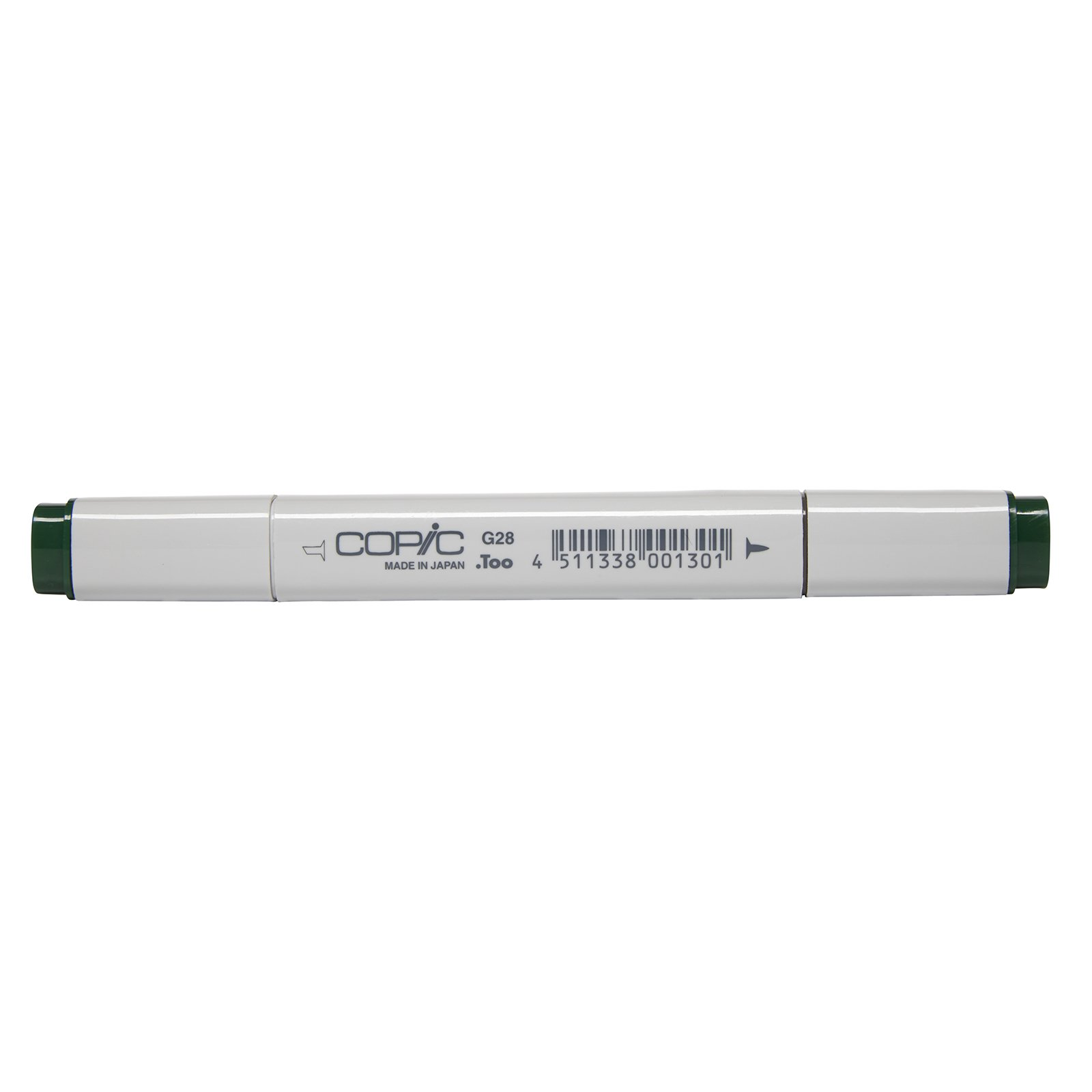 Copic Marker with Replaceable Nib, G28-Copic, Ocean Green