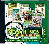 Maschinen im Modellbau - Jahrgangs CD 2003