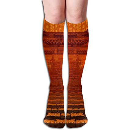 Amazon.com Bandnae 19.68 Inch Compression Socks Pixel Art