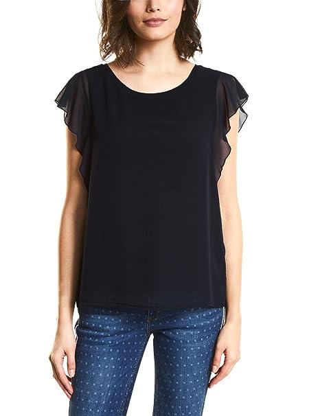 Street One 312068 Gesine, Camiseta para Mujer, Rosa (Carribean Pink 11293), 46