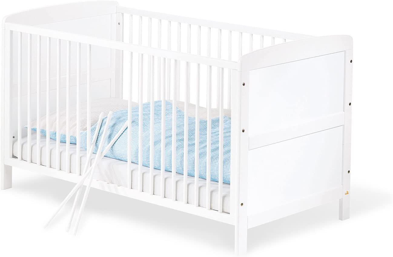 Pinolino 111422 Viktoria - Cuna convertible en cama infantil